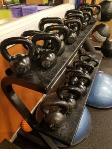 Kettlebells At Gym - Wilde Escape