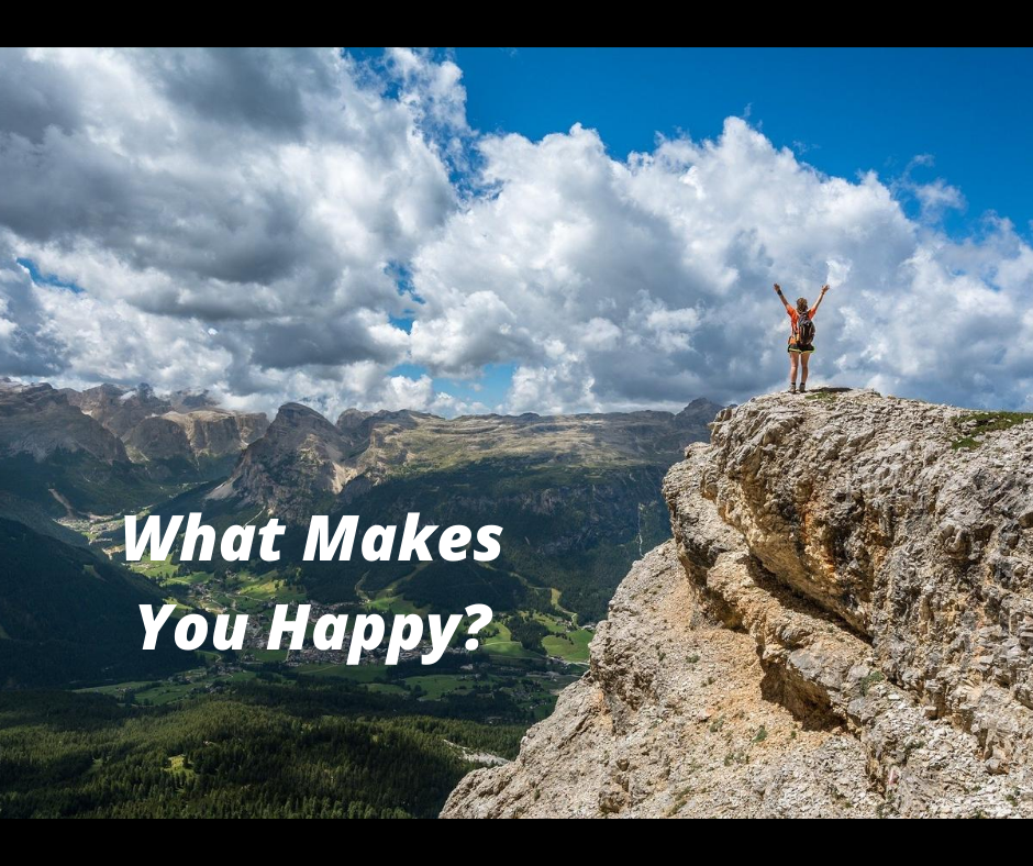 What Makes You Happy - FB Mountains