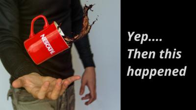 Coffee Spill Life Happens - Wilde Escape