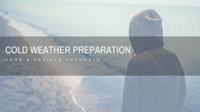 Cold Weather Preparation - Wilde Escape