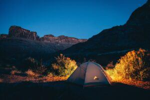 Camping-stock-tent