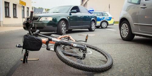 Bike-in-roadway