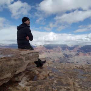 E at the Grand Canyon - Wilde Escape
