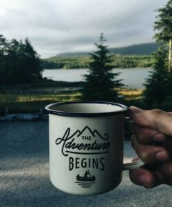 The Adventure Begins mug