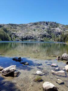 Lake Near Mt Shasta
