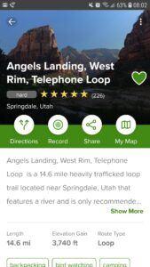 AllTrails-Angels Landing