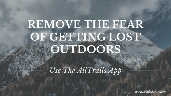 Remove the fear of getting lost outdoors - AllTrails