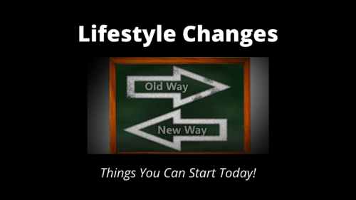Lifestyle Changes - Wilde Escape