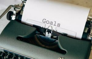Goals and Typewriter