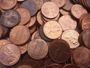 Many Pennies