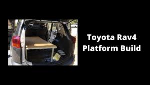 2013 Toyota Rav4 Platform Build - Wilde Escape