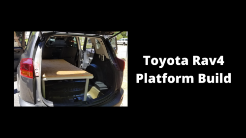 2013 Toyota Rav4 Platform Build - Wilde Escape