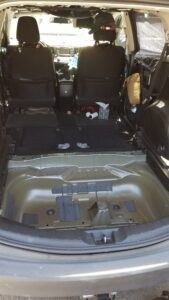 Rav4 - Seats and Spare Tire Removed