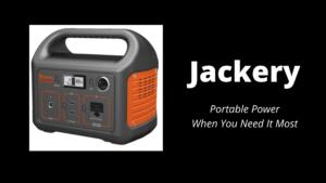 Jackery A Portable Powerhouse - Wilde Escape