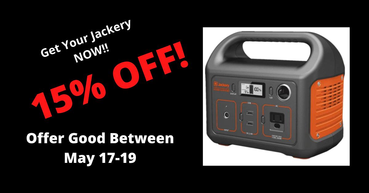 Jackery-May-2021-sale