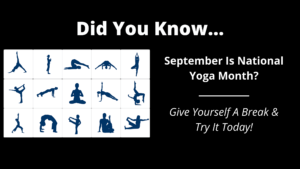 National Yoga Month Post - Wilde Escape