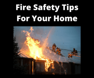 Fire Safety Tips For Your Home FB Post - Wilde Escape