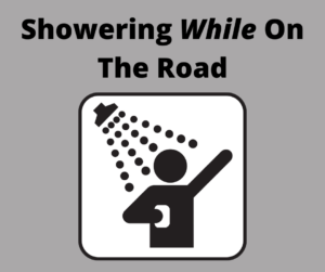 Showering On The Road - Social Media Post