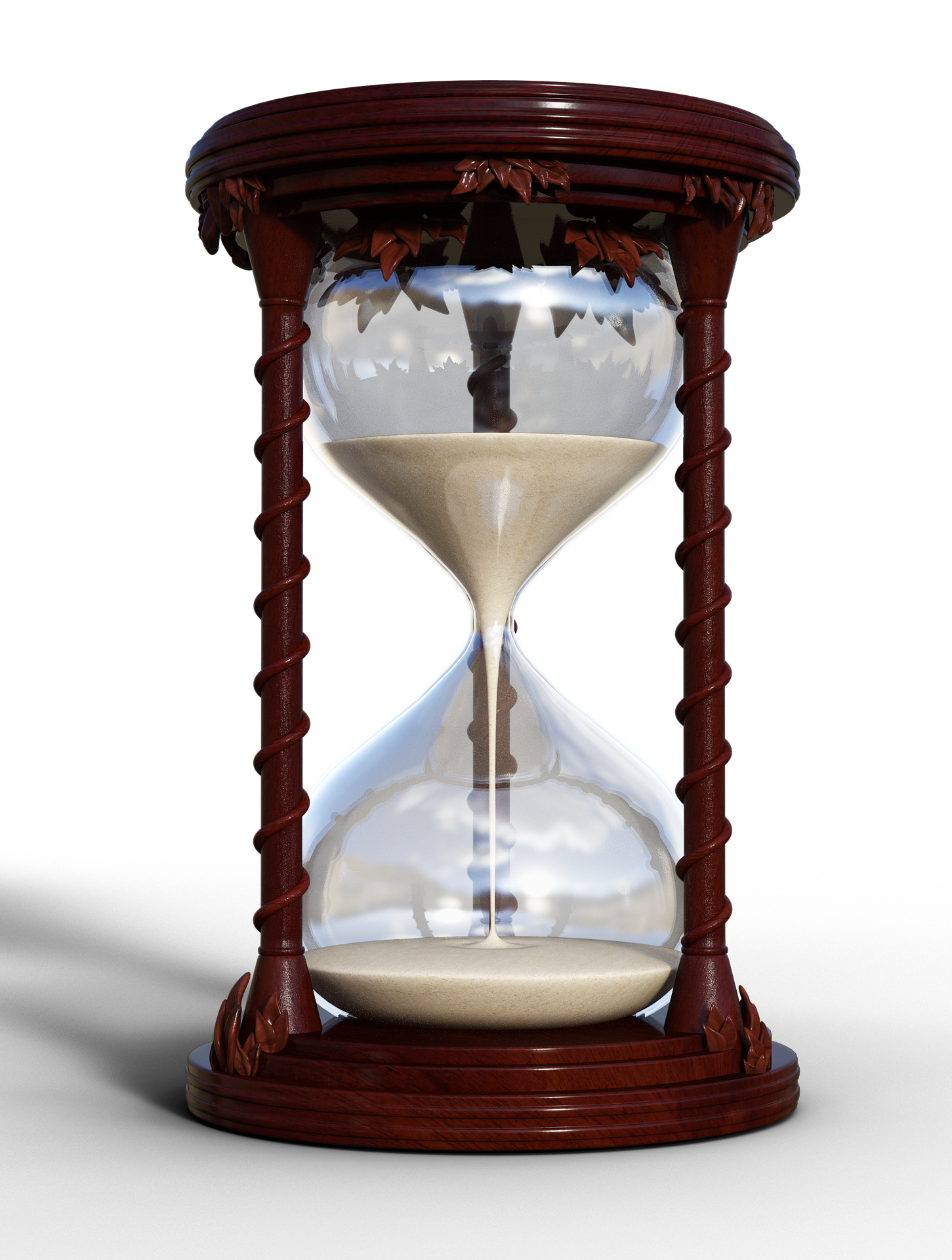 waiting-using-a-hourglass