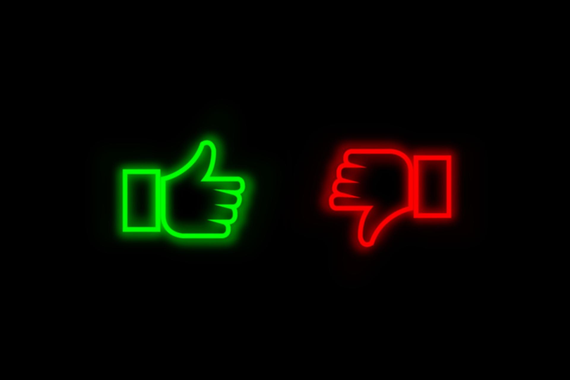 thumb-up-and-thumb-down