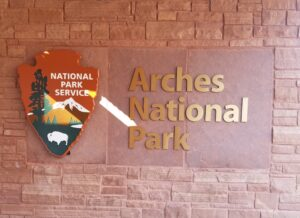 Arches-National-park-sign