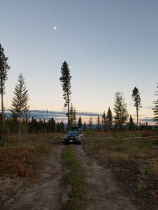 Camping-outside-Yellowstone