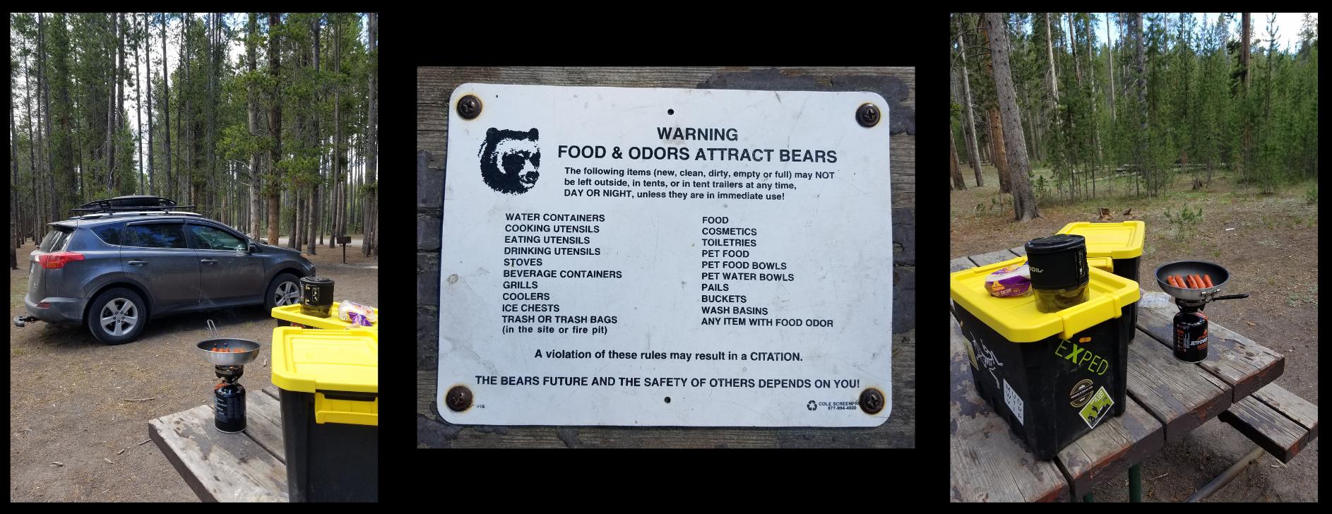 Making-food-at-Yellowstone